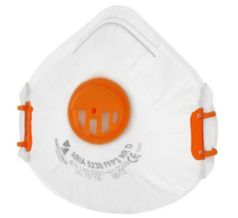 UVEX N95 FFP2 face mask with valve - ON STOCK